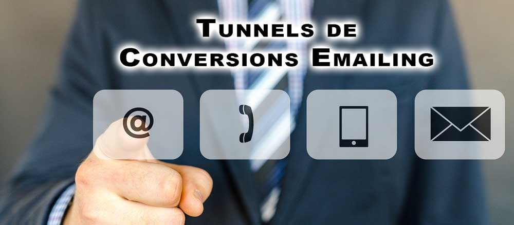 tunnels de conversion emailing | tunnel de conversion