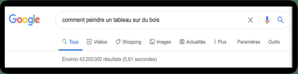 google 2 | trouver les réponses
